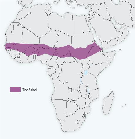 africa map help