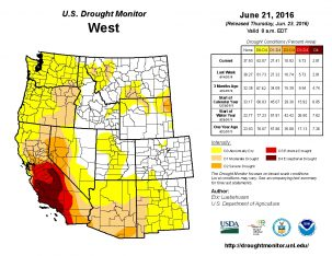 drought monitor USDA UNL current_west_trd 06-21-16