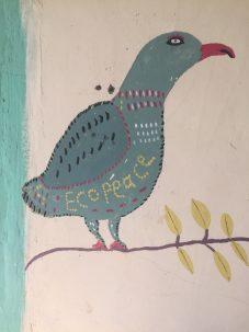 A painting at the Sharhabil Bin Hasnah Eco Park.