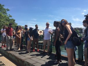 ESP Student Tour of the Gowanus Canal in Brooklyn