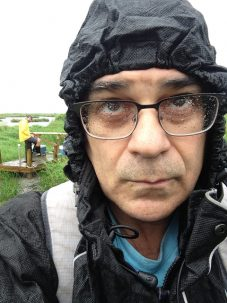 Here is how I looked during the rain on the first day.