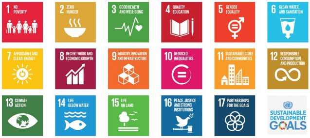 SDGs logos together