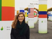 Savannah Miller attending COP21 in Paris