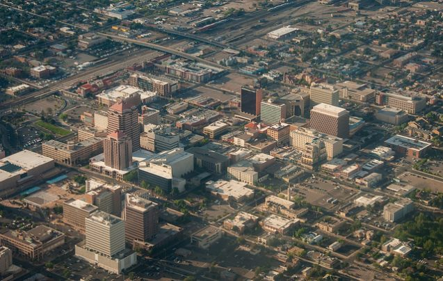 Downtown Albuquerque, New Mexico. Photo: G Morrow