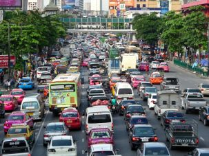 Traffic in Bangkok, Thailand. Photo: Armin Wagner