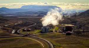 Krafla Power Station, Iceland's largest geothermal facility. Photo: Jonathan