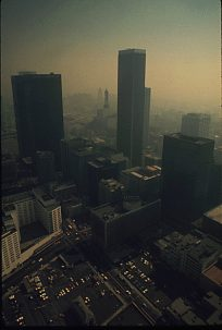 Smog over Los Angeles, 1973