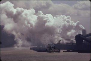 Pollution along the Monongahela River, PA in 1973