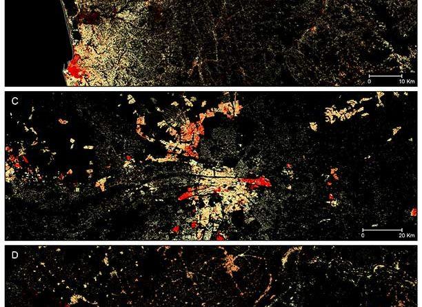 High-resolution settlement data