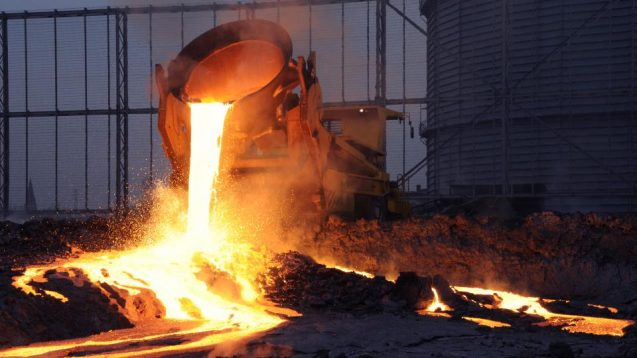 Processing steel slag. Photo: www.loesche.com