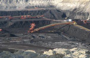Coal mine in Wyoming