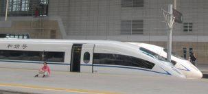 China's bullet train. Photo: i a walsh