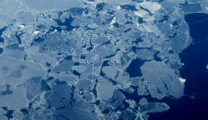 Warming of the North Pole and thinning ice Photo:WasifMalik