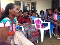 The team from the WOmen, Peace and Security Program talked to local women about their involvement in formal and informal processes of peacebuilding.
