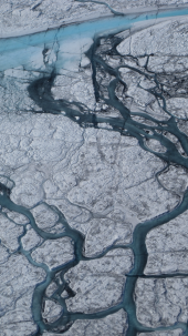 Greenland melting in 2012