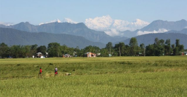 Chitwan Valley of Nepal