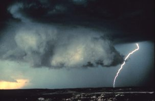 Weather forecasts can predict thunderstorms but nothing beyond two weeks.
