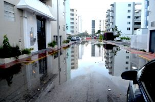 Flooding in Miami. Photo: MiamiBrickell
