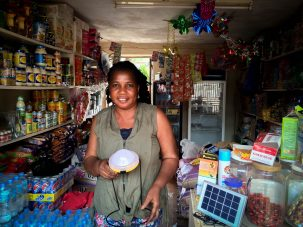 Easy Solar markets to small-scale business owners who may rely on inconsistent energy access and stop-gap lighting. / Photo: Nthabiseng Mosia