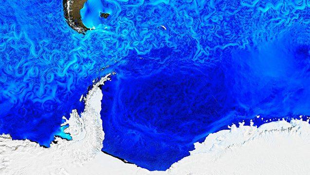 ocean currents near antarctica