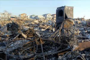 burned possessions in breezy point
