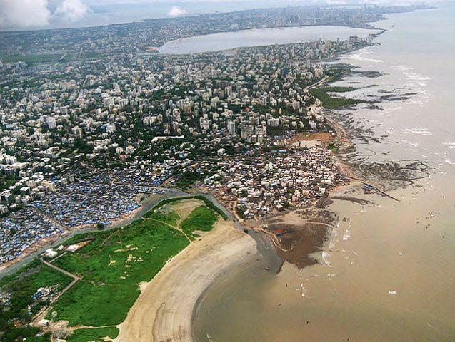 city of mumbai development along coast