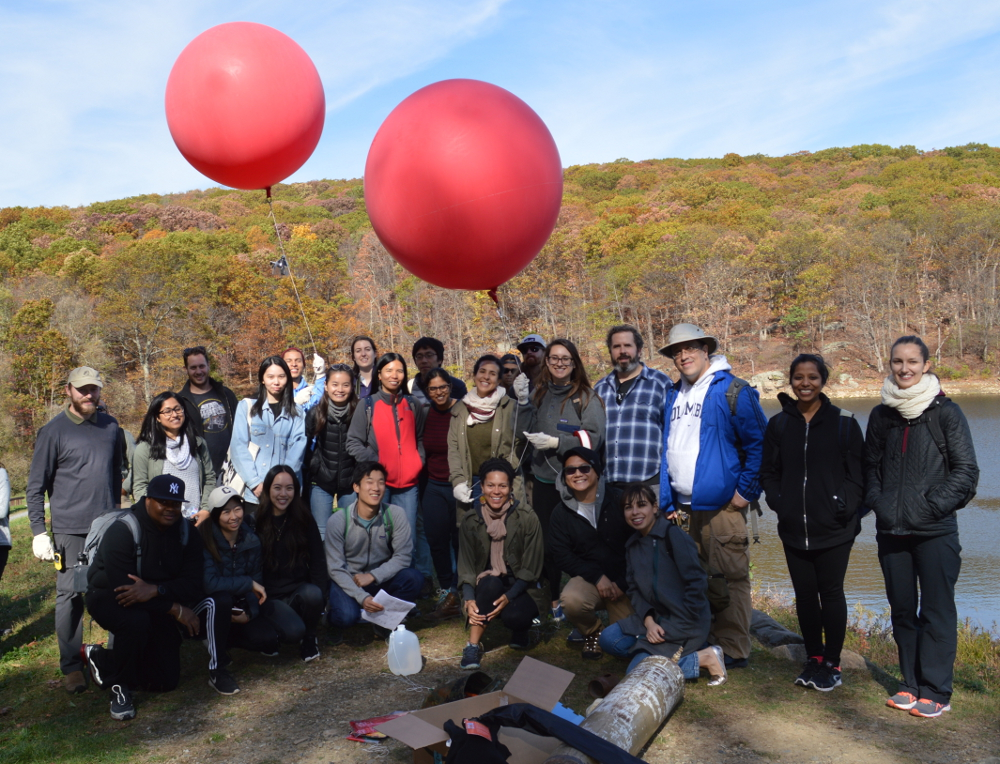 Students Practice GIS and Remote-Sensing Field Work in Black Rock Forest