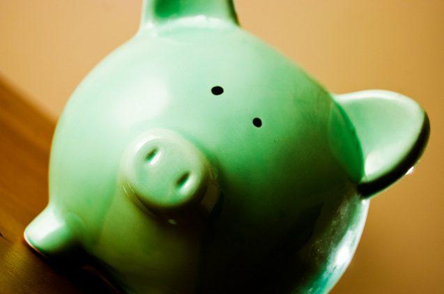 green piggybank sustainable investment