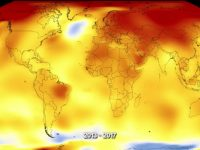 heat map of world