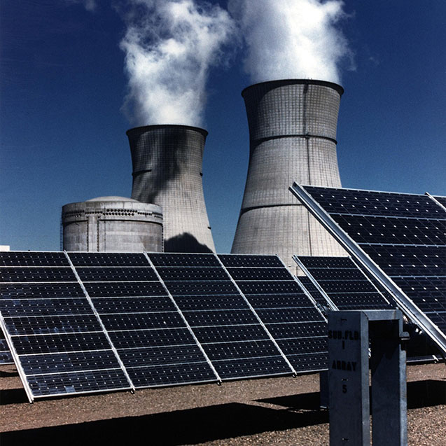 solar panels nuclear power sustainability science