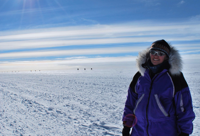 Robin Bell, leading polar researcher and Lamont Research Professor