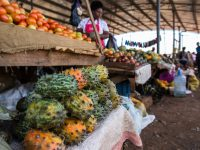 fruit in a market in kenya