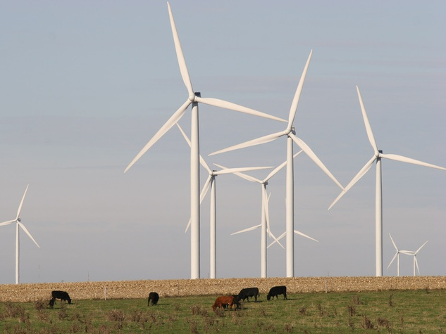 wind farms renewable energy