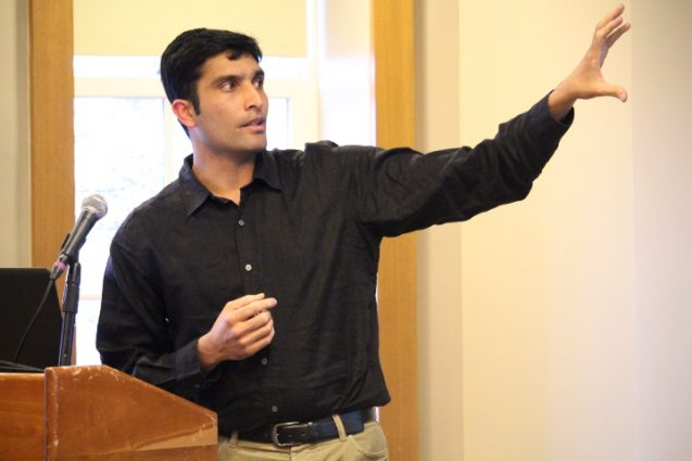 Anand Osuri at the Postdoctoral Symposium