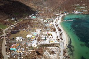 devastation in virgin islands