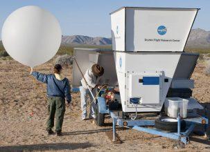 Weather Balloon, Weather Modeling, NASA