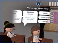 Virtual reality teacher training