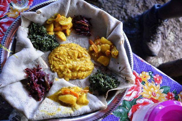 food in ethiopia