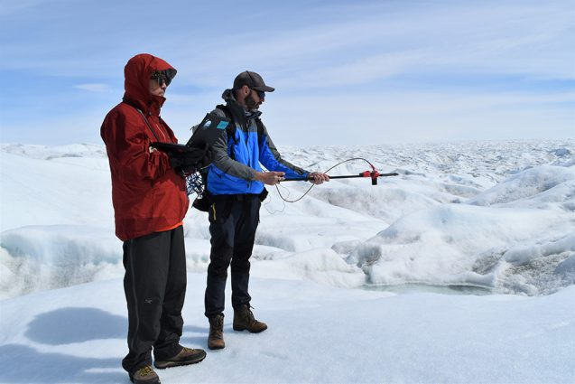 marco tedesco e mark bennett medem albedo na gronelândia