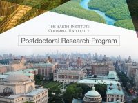 Decorative banner for the Earth Institute Postdoctoral Research Program