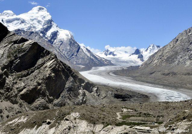 glaciers in ladakh