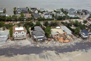 hurricane sandy damaged homes in NJ