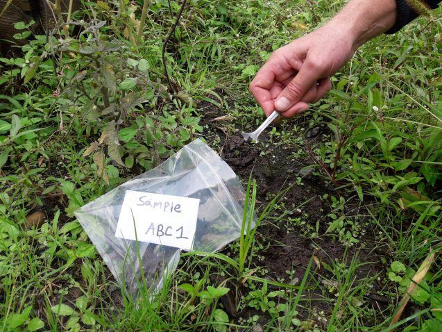 "a research on finding lead concentration on the soil ""bioavailable"" lead concentration in vegetable plants grown in soil from a reclaimed  chemical composition and redox conditions in this research, the bioavailability of pb concentration in a given soil sample is determined indirectly by using nitric acid (10 cm3, 25% v/v), disodium edta (005 m at ph 70) and water  concentration in."