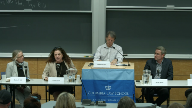 screengrab of panel discussion