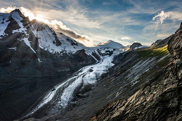 glacier in austria