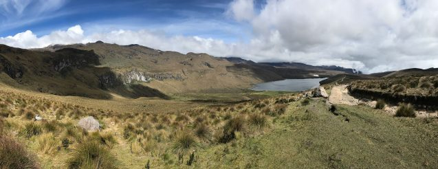 lake in the paramos