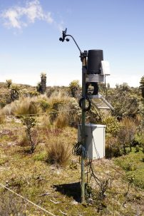 weather station in the paramos