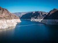 megadrought is causing lake mead's water levels to fall