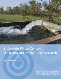 cover of the Columbia Water Center 10-year report