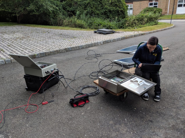 testing acoustic emission system